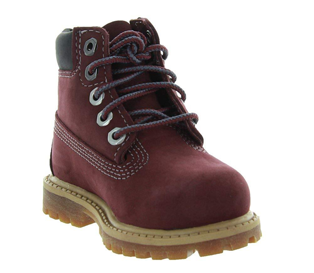 Timberland 6 In. Premium Boot Dark Port  (TD)