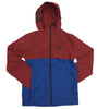 Timberland Biking Red Color Block Windbreaker Jacket