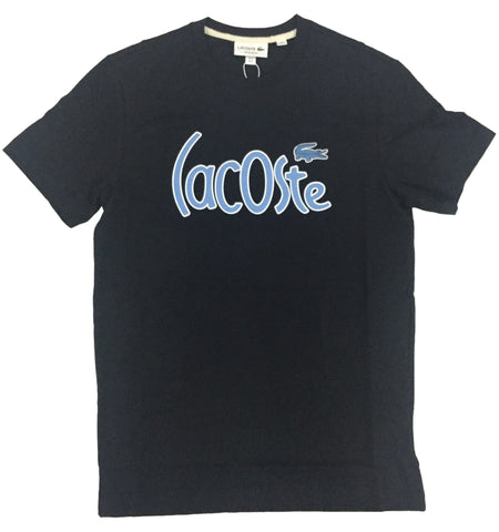 Lacoste Abysm Large Branded Graphic T-Shirt