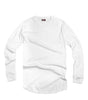 City Lab White Fitted Thermal Crewneck Shirt