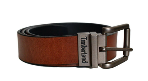 Timberland Brown/Black 35MM Vintage Belt