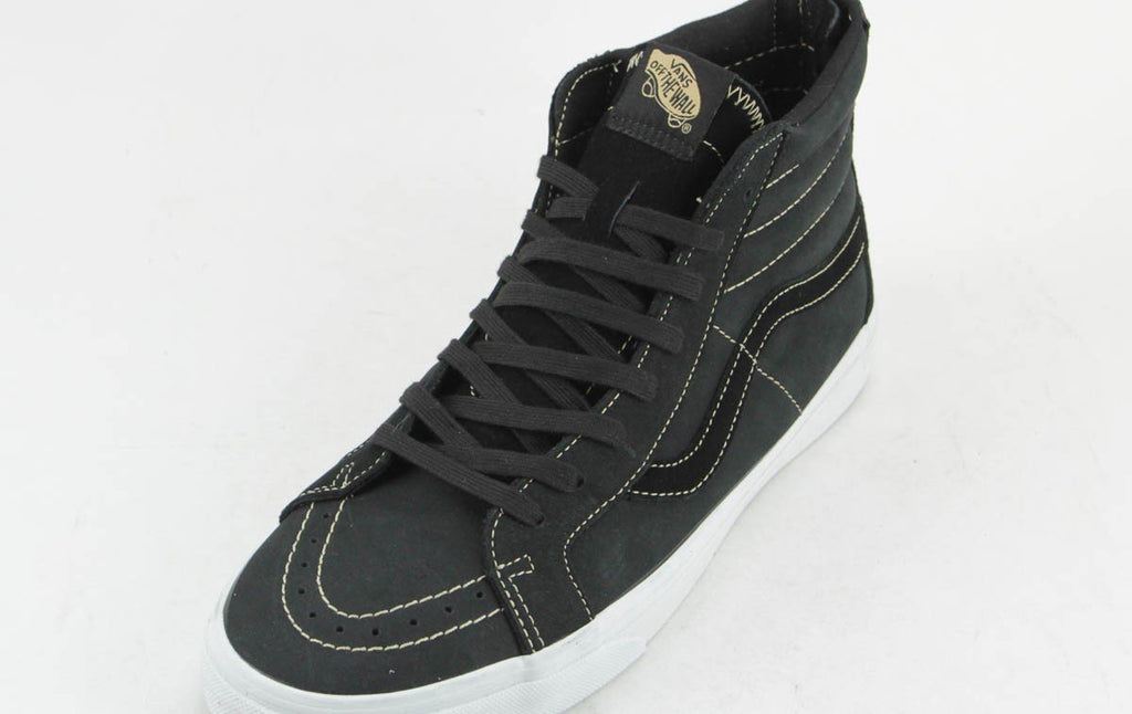 Vans Sk8-Hi Reissue Zip Premium Leather Black