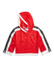 Champion Red Spark Cropped Mesh Hoodie