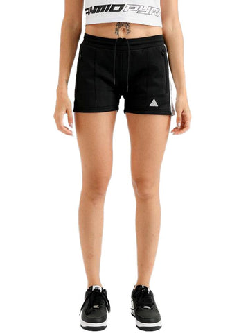 Black Pyramid Black Logo Tape Shorts (WS)