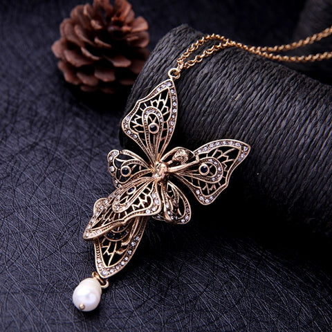 Fairy Pendant Necklace - Luxe Statements