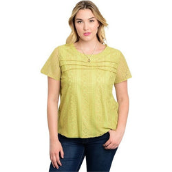 Lime Plus Size Top