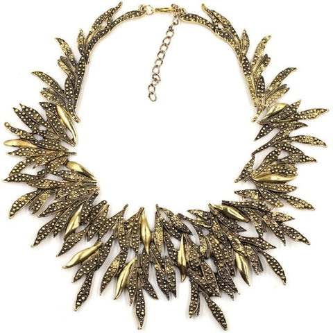 Liza Necklace from Luxe Statements in a white background