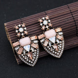 (NEW) Pink Statement Earrings