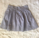 Women's Old Navy Blue and White Striped Skirt Size Medium - Luxe Statements