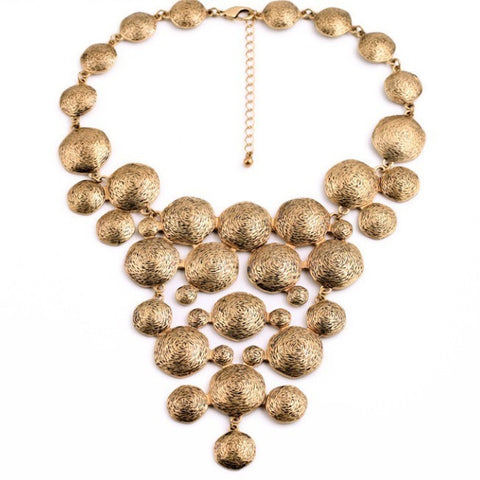Gina Statement Necklace - Luxe Statements