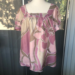 a.n.a. Pink Mauve Top Blouse Size XL - Luxe Statements
