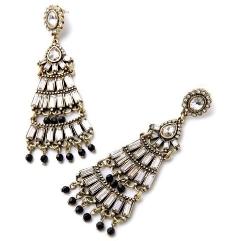 Chandelier Statement Earrings - Luxe Statements