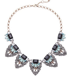 Luxe Statements Mara Statement Necklace on a white background