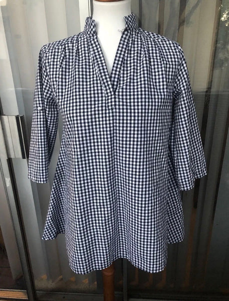 Gingham Blouse Size Large - Luxe Statements