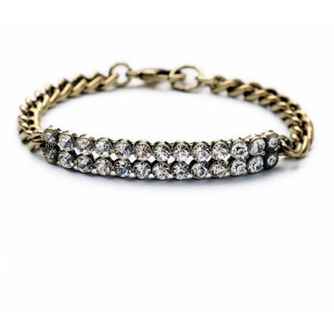 Crystal Charm Bracelet - Luxe Statements