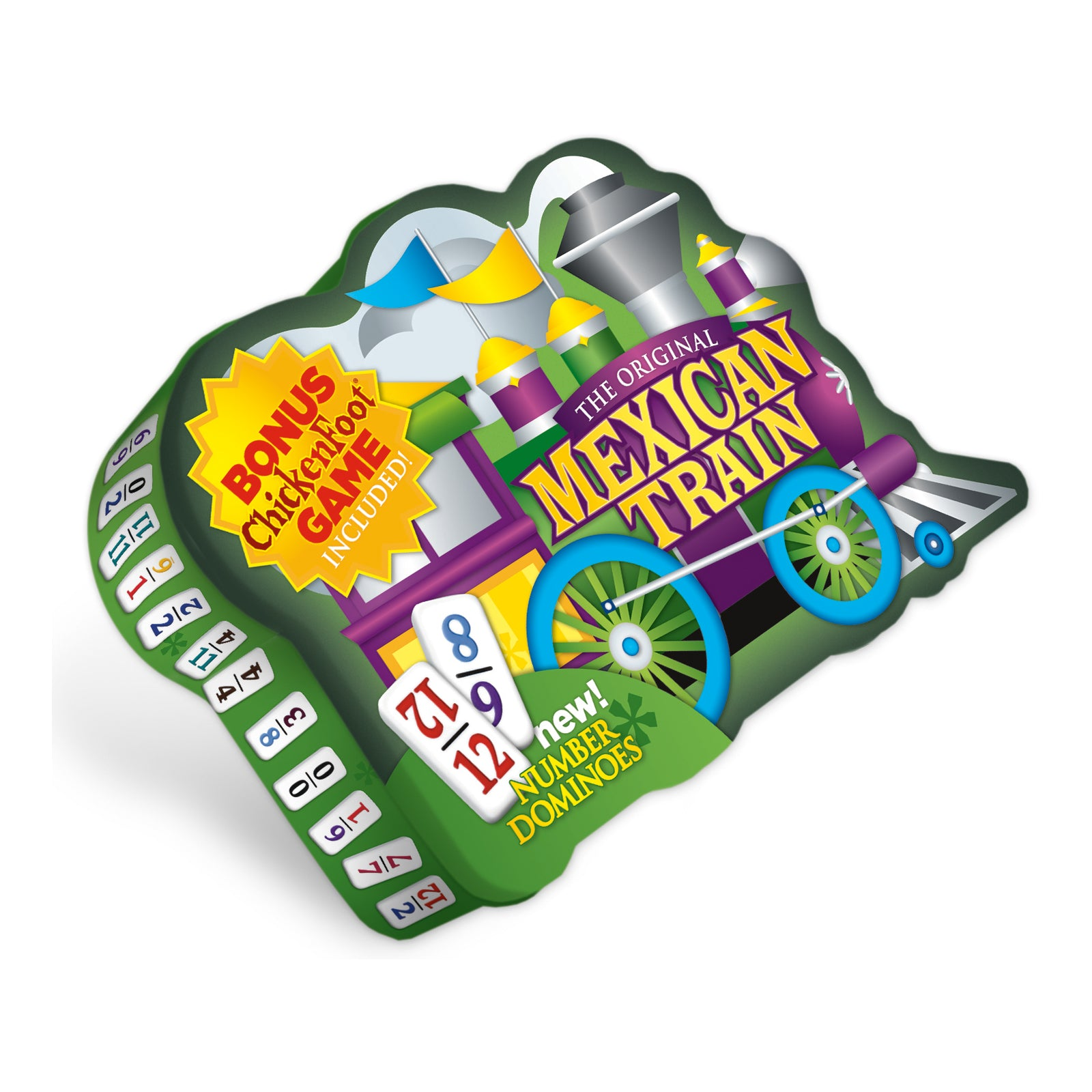 Mexican Train Deluxe Number Set