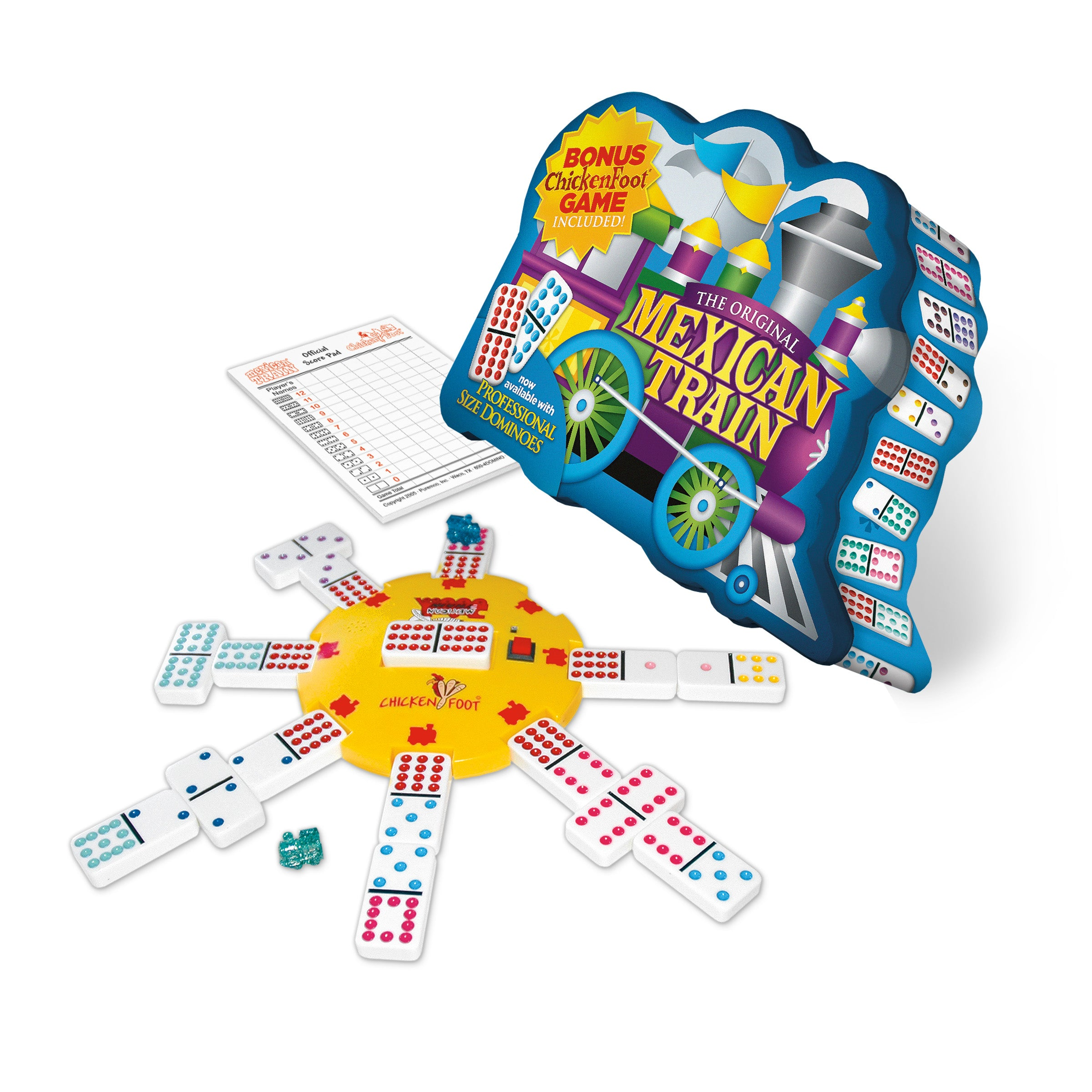 Mexican Train Deluxe Traditional Set