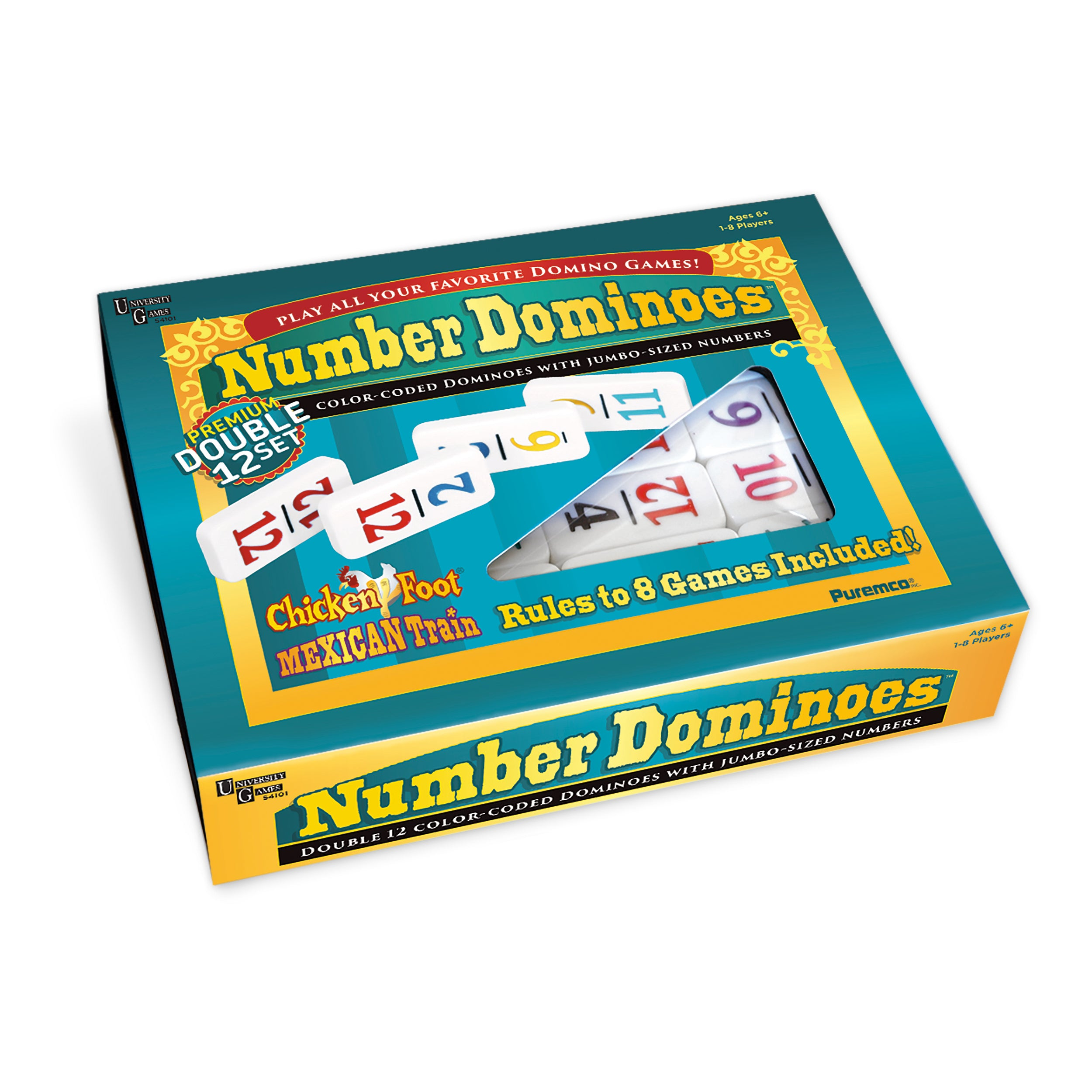 Double 12 Number Dominoes