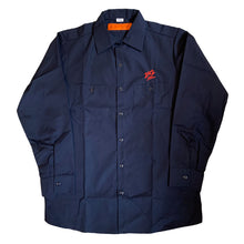 "Load image into Gallery viewer, 242 ""2.100.42"" Work Shirt L/S // Navy"