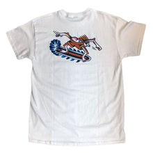 "Load image into Gallery viewer, 242 Tattoo ""Surfer"" Tee // White"