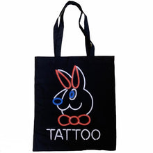 "Load image into Gallery viewer, 242 Tattoo ""Neon"" Bag // Black"