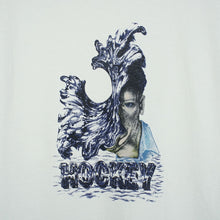 "Load image into Gallery viewer, Hockey ""Liquid Metal"" Tee // White"