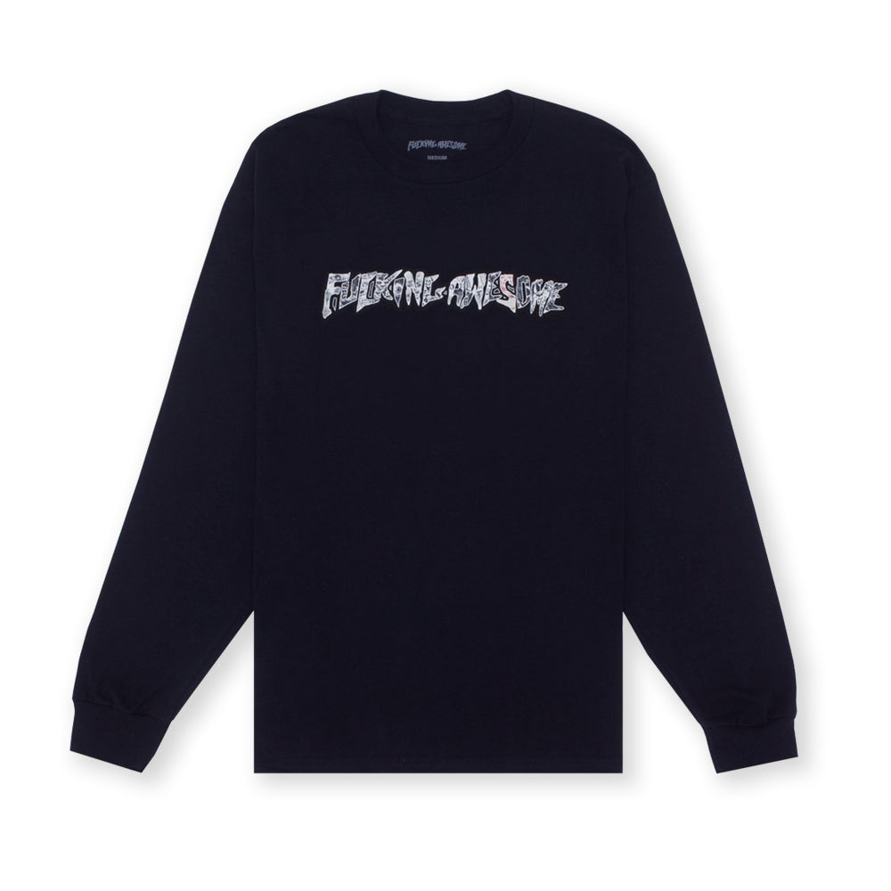"Fucking Awesome ""Actual Visual Guidance"" L/S // Black"