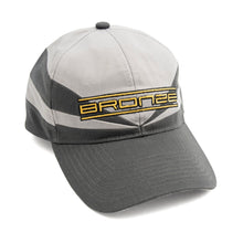 "Load image into Gallery viewer, Bronze 56K ""Sports Snapback"" Hat // Grey - Charcoal"