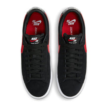 "Load image into Gallery viewer, Nike SB ""Blazer Low GT"" // Black/University Red"
