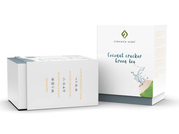 Coconut Cracker Green Tea
