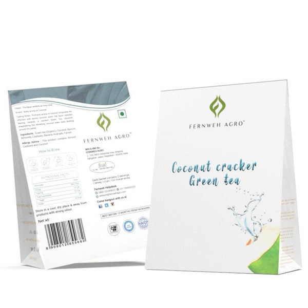 Coconut Cracker Green Tea (Loose leaf) - Fernweh Agro