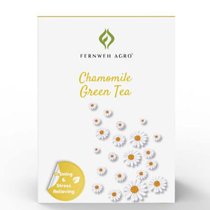 Calming & Stress Relieving - Chamomile Tea - Fernweh Agro