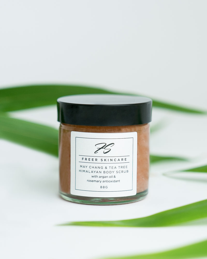 May Chang & Tea Tree Himalayan Salt Body Scrub