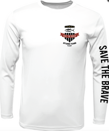 STB Ultimate Wicking Long Sleeve Performance T-Shirt - White