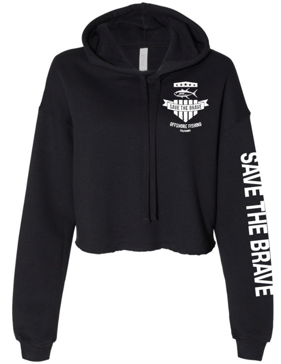 STB Women's Cropped Hoodie