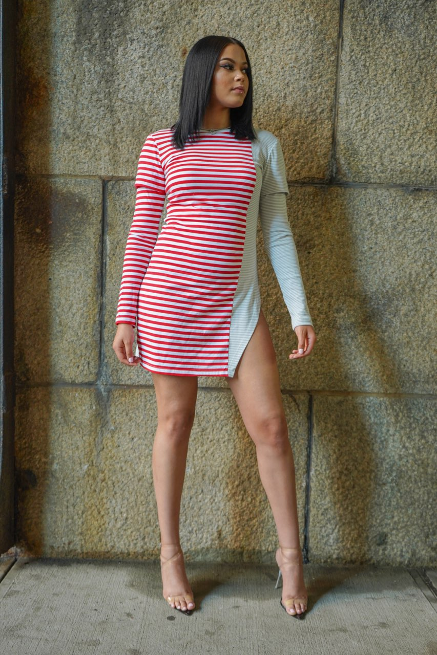 Two Sides T-shirt Dress