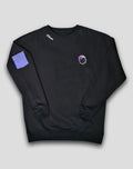 PURPLE BRAIN CREWNECK