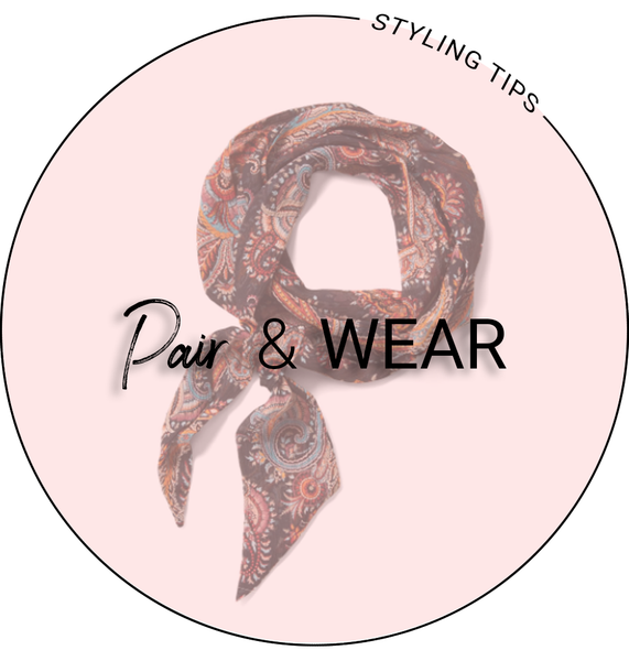 Pair & Wear: Neck Scarves
