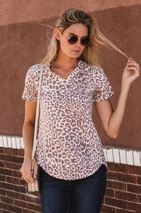 Amaryllis Tee (Animal Prints) - Amaryllis Land