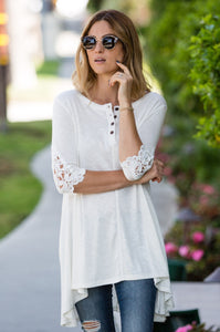 Play it Loose Crochet Tunic - Amaryllis Land