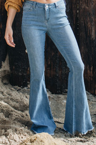 Dancing Queen Flare Denim - Amaryllis Land