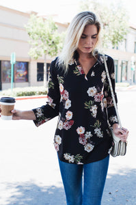 At the Office Blouse - Amaryllis Land