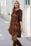 Alma Velvet Dress - Amaryllis Land