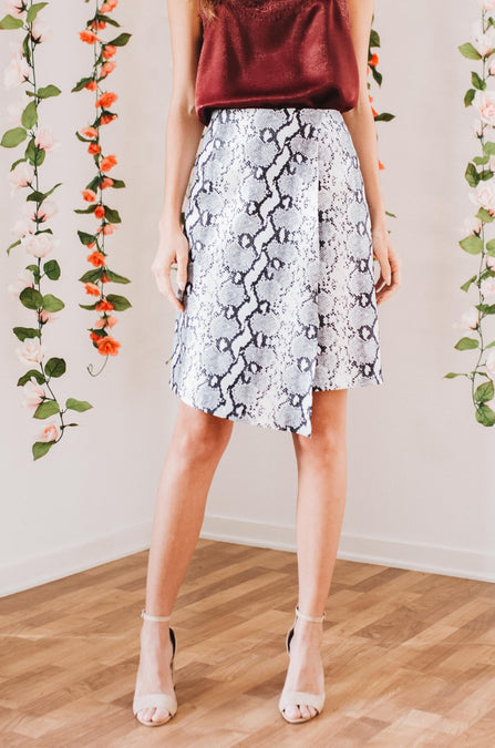 Upscale Wrap Skirt - Amaryllis Land