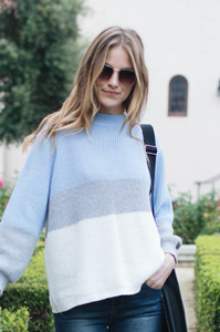 Aspen Colorblock Sweater - Amaryllis Land
