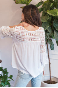 Daisy Crochet Top - Amaryllis Land