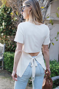 Magnolia Tie-Back Top - Amaryllis Land