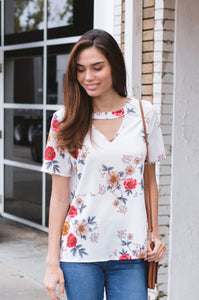 Flower Child Blouse - Amaryllis Land