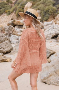 Sol Lace Tunic - Amaryllis Land