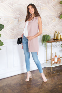 Spring Showers Duster Vest